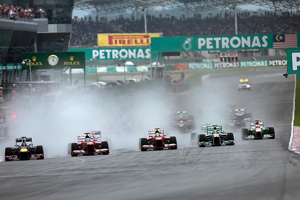 Malaysian Formula One Grand Prix「Sebastian Vettel, Fernando Alonso, Felipe Massa, Lewis Hamilton, Adrian Sutil, Grand Prix Of Malaysia」:写真・画像(8)[壁紙.com]