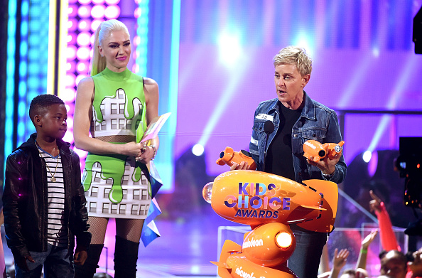 Gwen Stefani「Nickelodeon's 2017 Kids' Choice Awards - Show」:写真・画像(14)[壁紙.com]