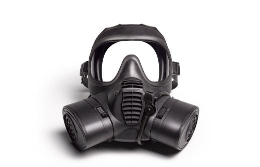 Chemical「Gas Mask on White」:スマホ壁紙(7)