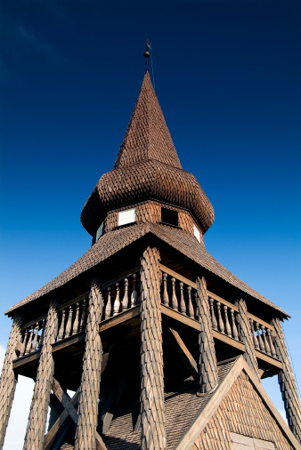 Jamtland「Belltower at Hackas Church Near Ostersund, Sweden」:スマホ壁紙(16)