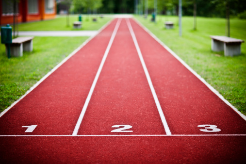 Track Event「Tartan running sports track」:スマホ壁紙(11)
