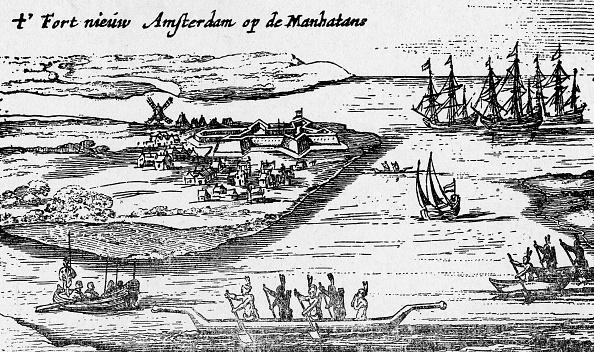 Lower Manhattan「Early View Of Colonial New York」:写真・画像(13)[壁紙.com]