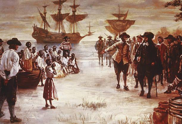 Dutch Slave Ship Arrives In Virginia:ニュース(壁紙.com)