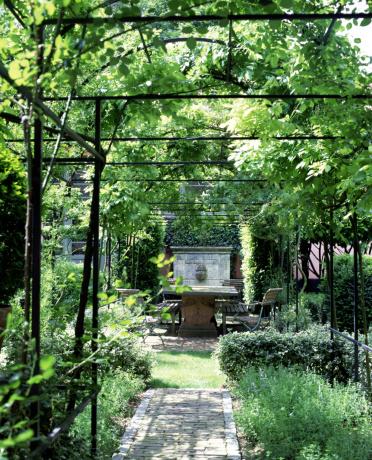 Formal Garden「Elegant garden with arbor」:スマホ壁紙(2)
