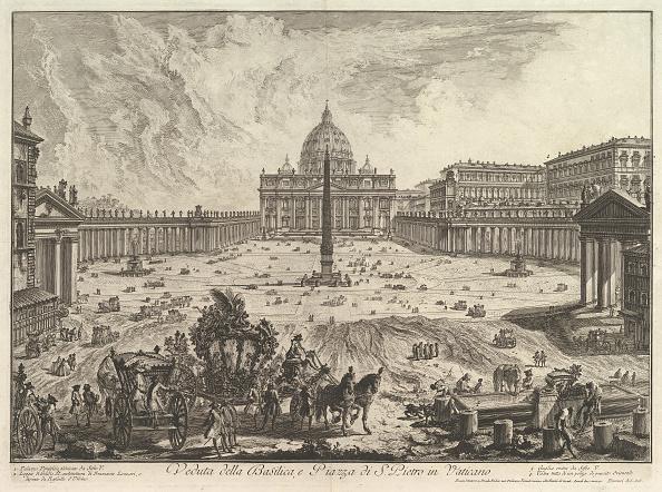 バシリカ「View Of St Peters Basilica And Piazza In The Vatican」:写真・画像(19)[壁紙.com]