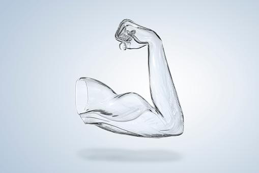 Arm「muscle arm. Digitally generated」:スマホ壁紙(5)