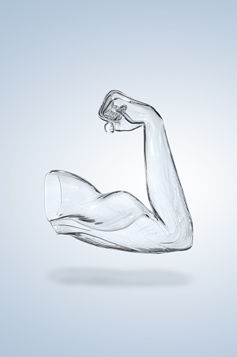 Strength「muscle arm. Digitally generated」:スマホ壁紙(17)