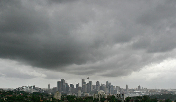 Cloud - Sky「Rain Clouds Loom Over Sydney skyline」:写真・画像(8)[壁紙.com]