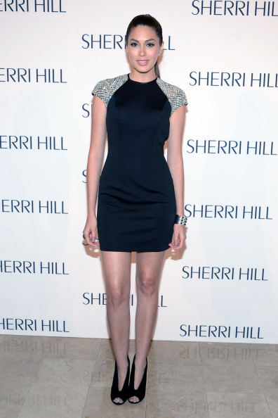 縦位置「Sherri Hill - Front Row - Mercedes-Benz Fashion Week Spring 2015」:写真・画像(6)[壁紙.com]