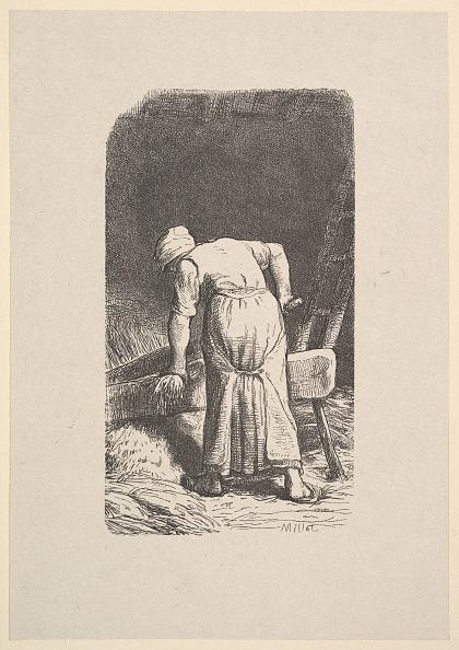Cutting「Woman Cutting Wheat」:写真・画像(16)[壁紙.com]