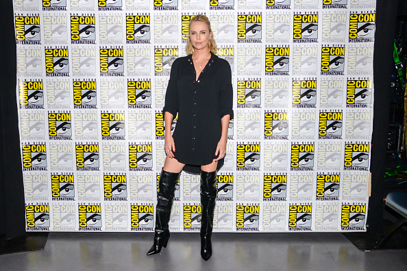 """Comic con「Entertainment Weekly's """"Women Who Kick Ass - Icon Edition with Charlize Theron"""" panel at San Diego Comic Con 2017」:写真・画像(14)[壁紙.com]"""