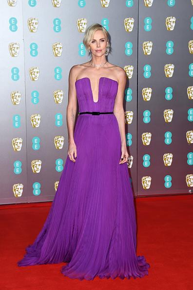 Purple Dress「EE British Academy Film Awards 2020 - Red Carpet Arrivals」:写真・画像(3)[壁紙.com]