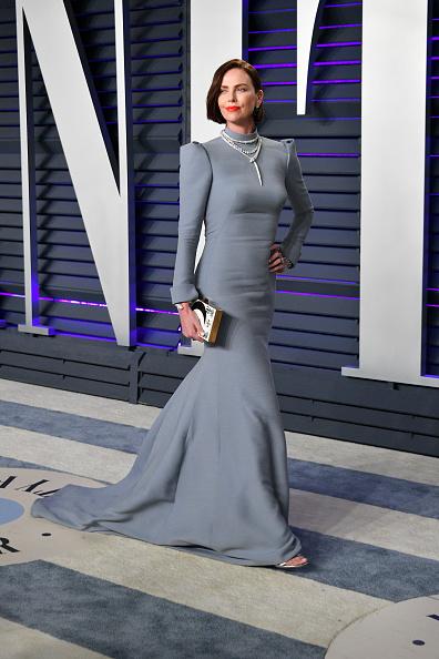クリスチャンディオールのドレス「2019 Vanity Fair Oscar Party Hosted By Radhika Jones - Arrivals」:写真・画像(1)[壁紙.com]