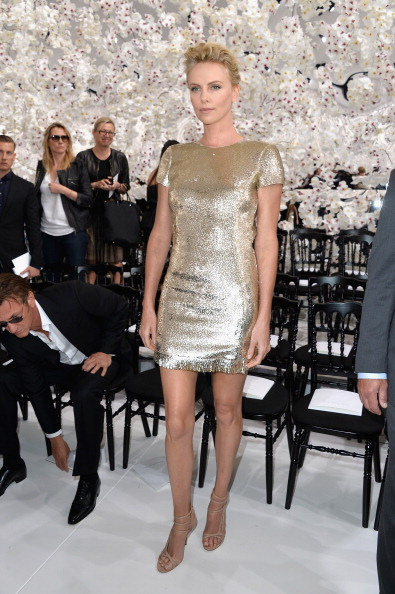 Gold Colored「Christian Dior: Front Row - Paris Fashion Week : Haute-Couture Fall/Winter 2014-2015」:写真・画像(16)[壁紙.com]