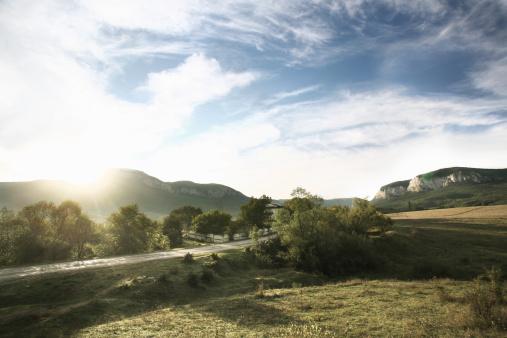 Ukraine「View on Crimean Mountains near Yalta」:スマホ壁紙(19)