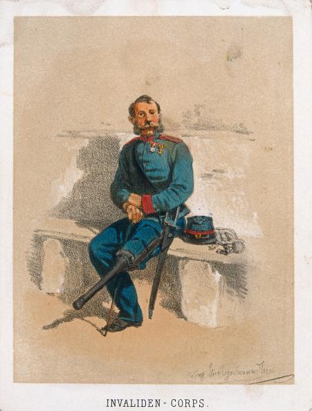 Chromolithograph「Invalider Soldier」:写真・画像(11)[壁紙.com]