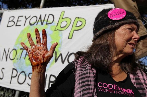 University of California「Environmental Groups Protest BP Oil Spill In Gulf Of Mexico」:写真・画像(14)[壁紙.com]
