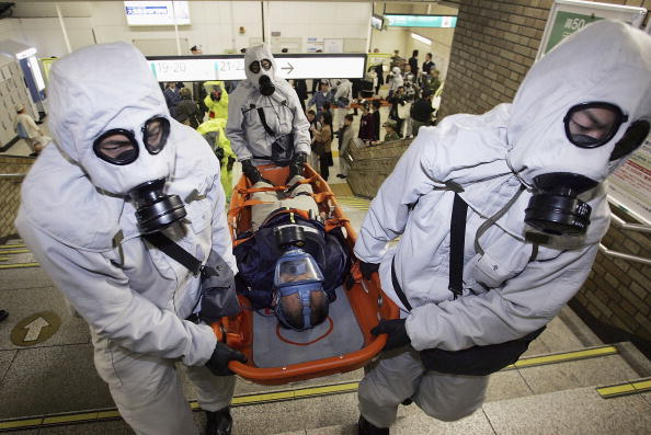 Chemical「Japans Security Forces Run Anti Terrorism Drill」:写真・画像(13)[壁紙.com]