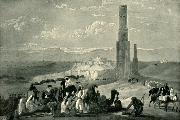 California State Route 1「The Fortress And Citadel Of Ghazni And The Two Minars」:写真・画像(6)[壁紙.com]