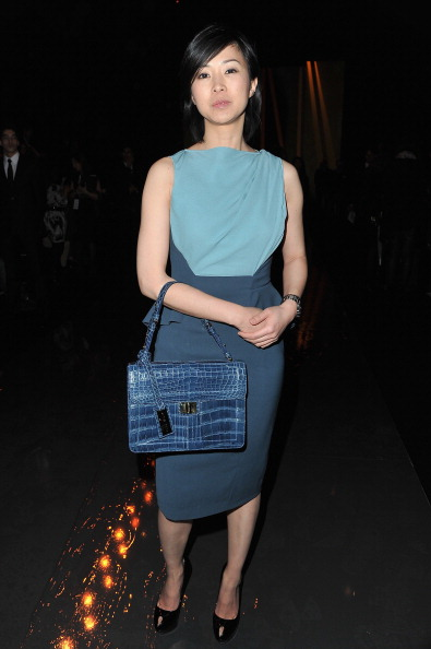 Blue Purse「Elie Saab: Front Row - Paris Fashion Week Womenswear Fall/Winter 2012」:写真・画像(13)[壁紙.com]
