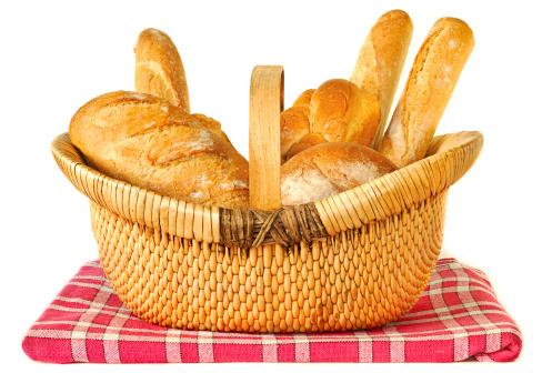 Brioche「Bread in a Wicker Basket」:スマホ壁紙(16)