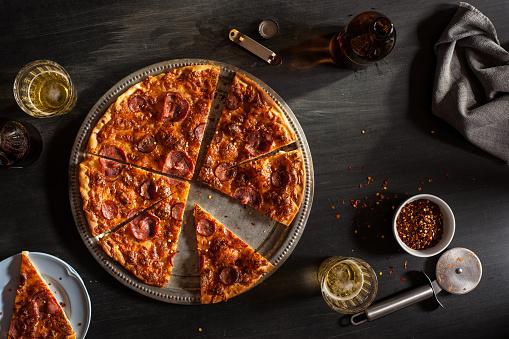 Sausage「Salpicao and Chourico Pizza」:スマホ壁紙(18)