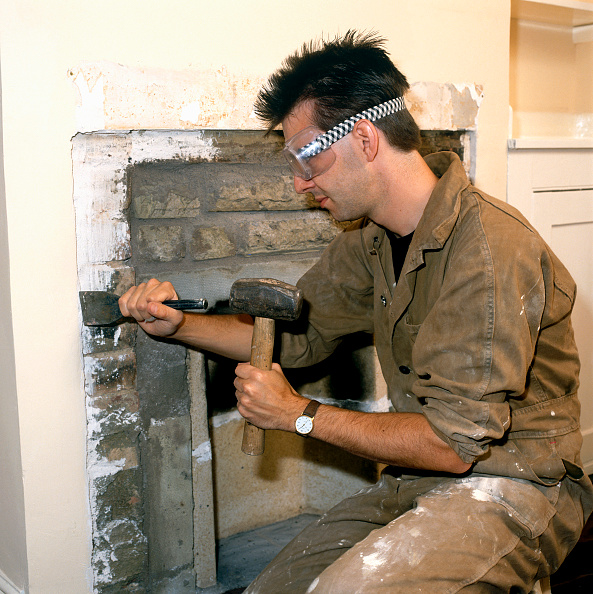 Taking Off - Activity「Removing a Fireplace」:写真・画像(18)[壁紙.com]