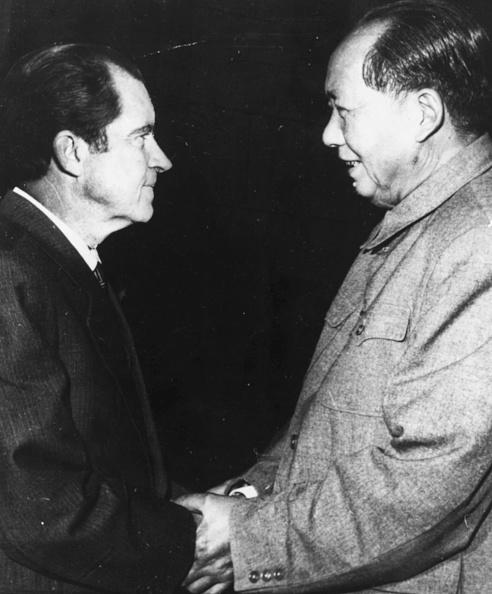 Chairperson「Mao Tse-Tung And Richard Nixon」:写真・画像(19)[壁紙.com]