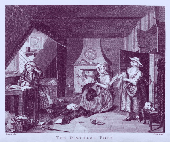 Social History「The Distrest Poet by William Hogarth」:写真・画像(16)[壁紙.com]
