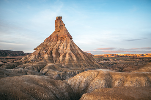 Eroded「Bardenas Reales, Navarra, Spain」:スマホ壁紙(18)