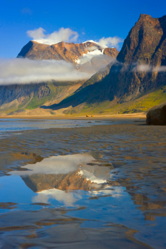 Baffin Island「Weasel River, Auyuittuq NP, Baffin Island, Nunavut, Canada」:スマホ壁紙(18)