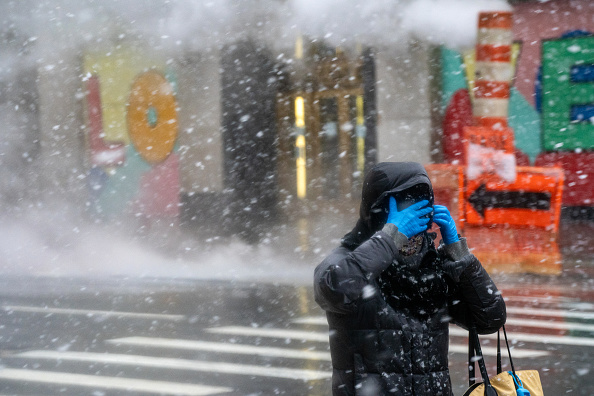 Weather「Second Snowstorm Hits New York City In Less Than A Week」:写真・画像(18)[壁紙.com]