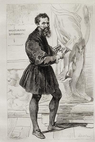 Michelangelo - Artist「MICHELANGELO BUONARROTI」:写真・画像(1)[壁紙.com]