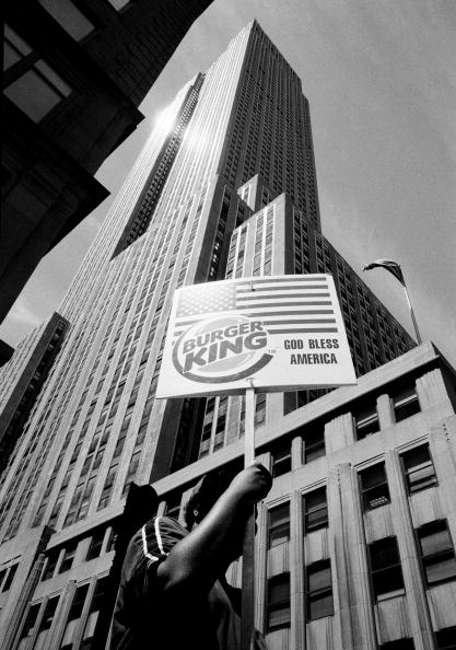 Empire State Building「Burger Sign」:写真・画像(7)[壁紙.com]