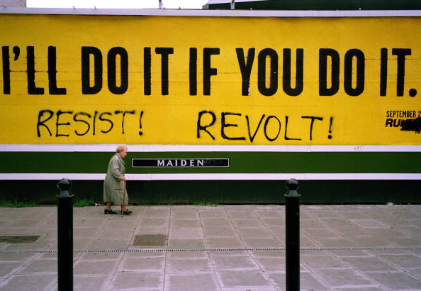 Graffiti「Anti Corporate Message」:写真・画像(13)[壁紙.com]