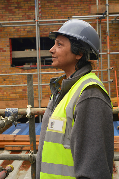 Incomplete「New homes being built in Angell town housing estate in Loughborough, London, UK」:写真・画像(8)[壁紙.com]