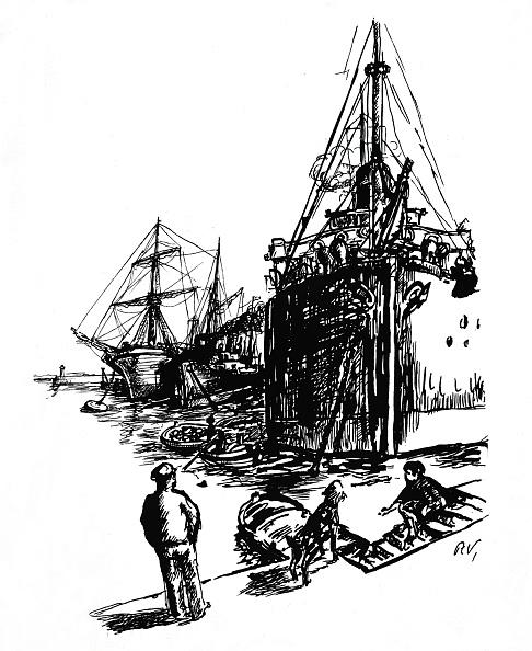 Waterfront「Ships In Port」:写真・画像(16)[壁紙.com]