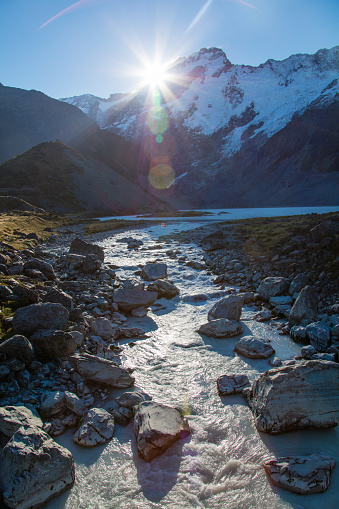 New Zealand「Mount Sefton in New Zealand」:スマホ壁紙(0)