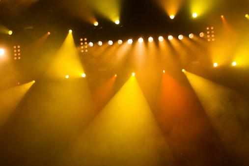 Orange Color「concert lights」:スマホ壁紙(13)