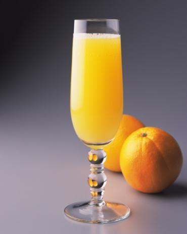 オレンジジュース「Cocktail, Mimosa, Front View」:スマホ壁紙(16)