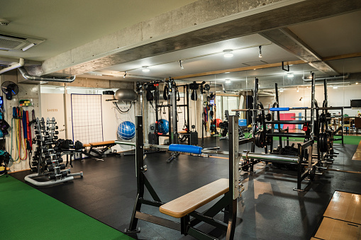 Sports Venue「Shot of training gym」:スマホ壁紙(9)