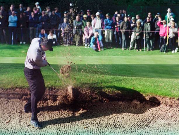 Cisco World Match Play golf at the Wentworth Club England 1998:ニュース(壁紙.com)