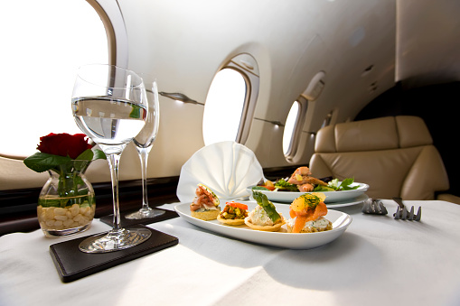 Snack「Corporate Jet Canapés meal.」:スマホ壁紙(9)