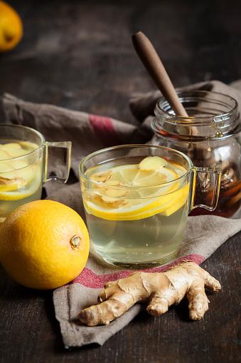 Ice Tea「Hot lemon-ginger infusion with honey」:スマホ壁紙(2)