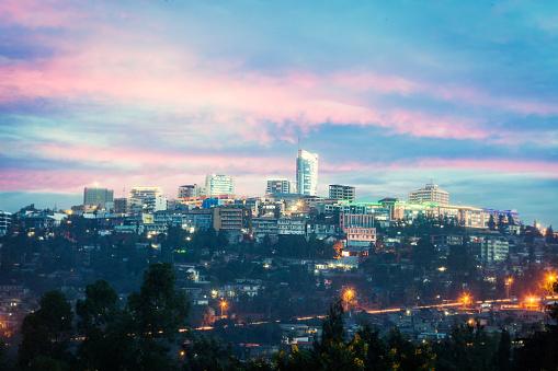 East Africa「Kigali skyline, Rwanda」:スマホ壁紙(18)