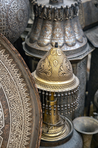 Gift Shop「Souvenir shop in Cairo, copies of old Egyptian objects and masks, Egypt」:スマホ壁紙(0)