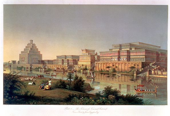 Restoring「The Palaces Of Nimrud Restored' 1853」:写真・画像(9)[壁紙.com]