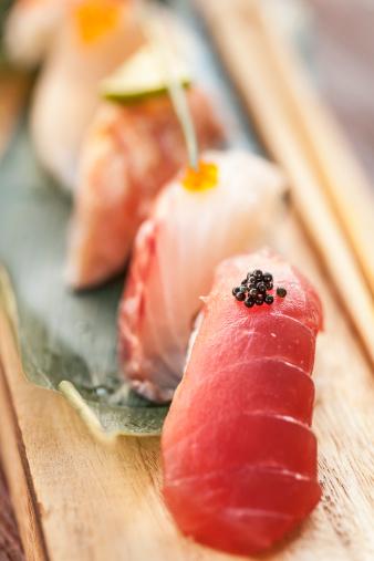 日本食「Japanese Cuisine, close up of fresh Sushi」:スマホ壁紙(9)