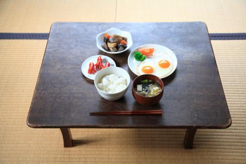 和食「Japanese cuisine breakfast」:スマホ壁紙(4)
