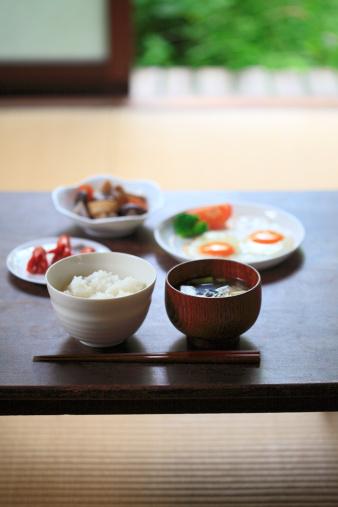 和食「Japanese cuisine breakfast」:スマホ壁紙(1)
